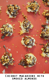 Coconut-macaroons-smoked-almonds