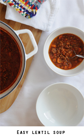 Easy-lentil-soup-vegetarian-or-sausage