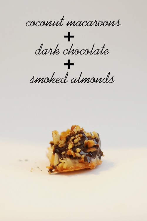 Coconut-macaroons-chocolate-smoked-almonds-2