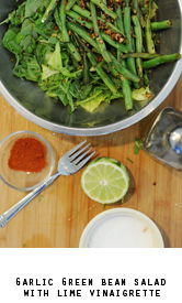 Garlic-green-bean-salad-lime-vinaigrette