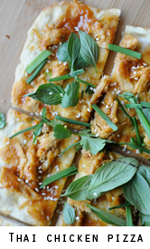 Thai-chicken-pizza