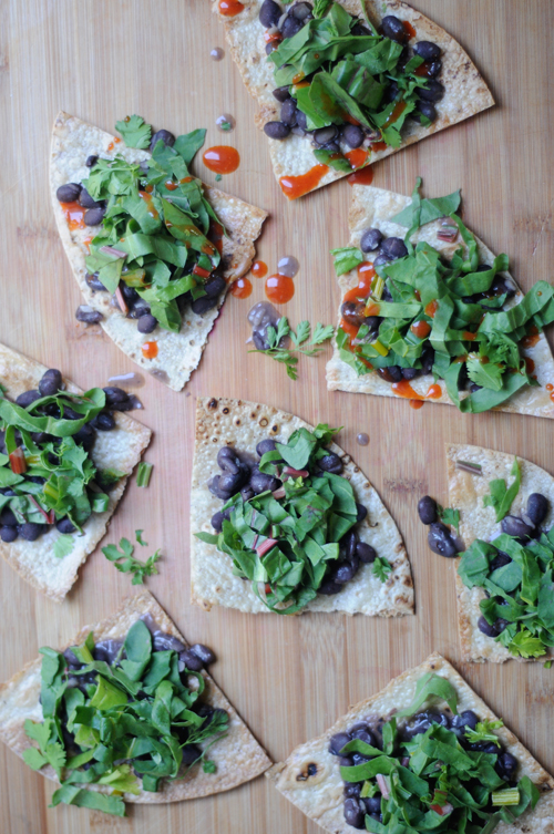 Swiss-chard-black-bean-tostadas
