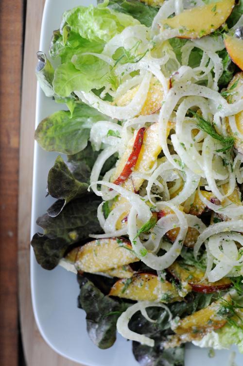 Fennel-nectarine-slaw-salad