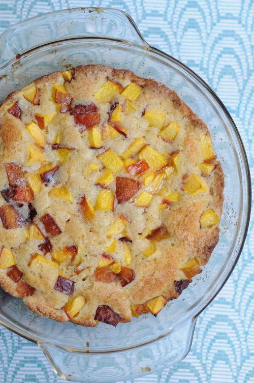 Summer-peach-cake